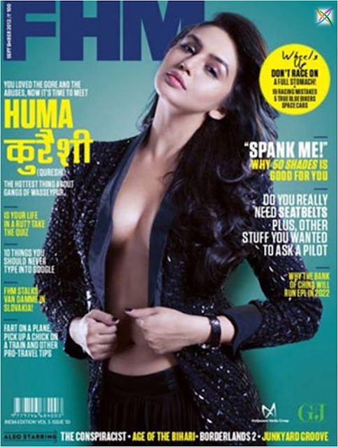 Huma Qureshi Actress Model Twitter Ad Latest News Magazine Images/Photos Videos