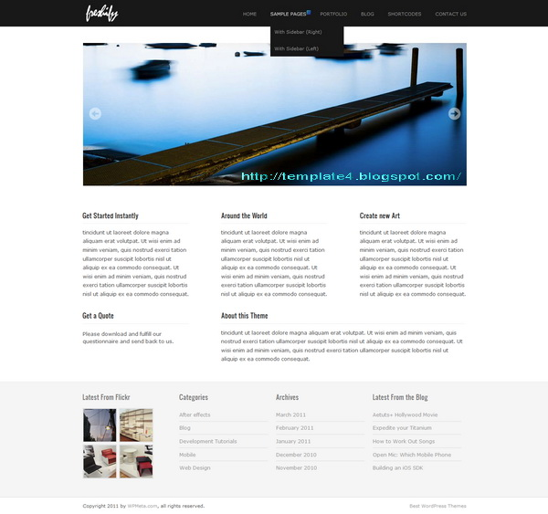 Freshify WordPress Theme