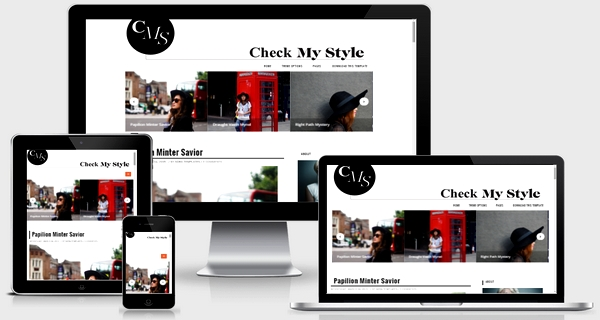 Check My Style Responsive Blogger Template Free Download