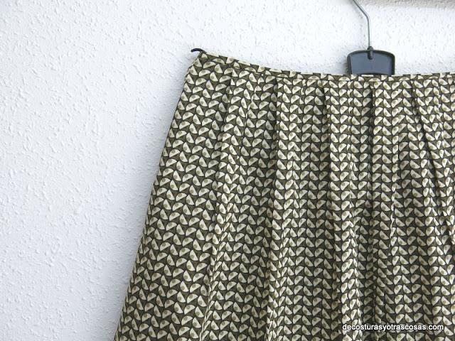 falda 13 pinzas tutorial paso a paso