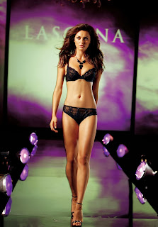 Catrinel Menghia Sexy Commercial Lascana Lingerie Celebrity Commercials TV 2013 - SuperBowl Ads