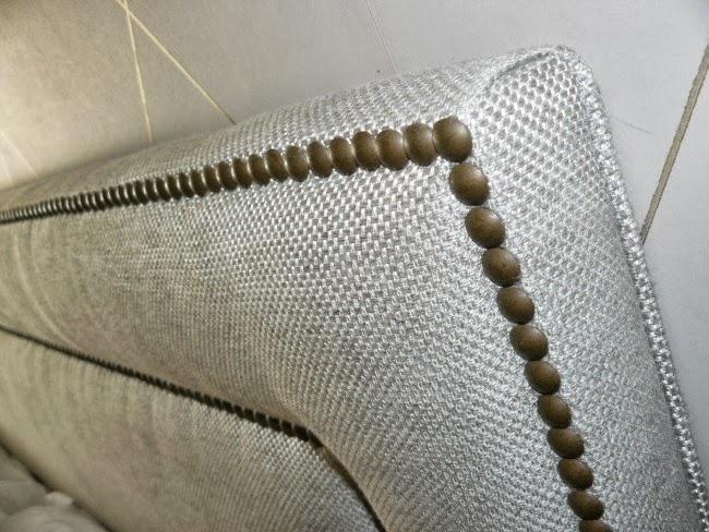 Tapicer a sarasol decoraci n - Telas para tapizar cabeceros ...