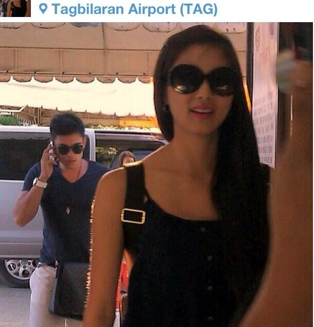 spotted kim chiu and xian lim in bohol