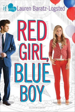 Red Girl, Blue Boy book cover