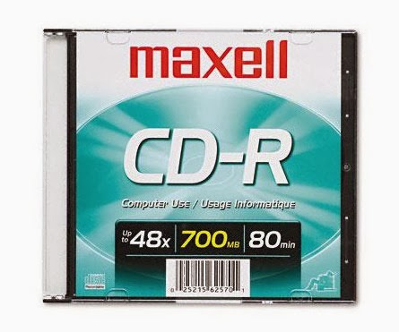 cdr maxell single pack