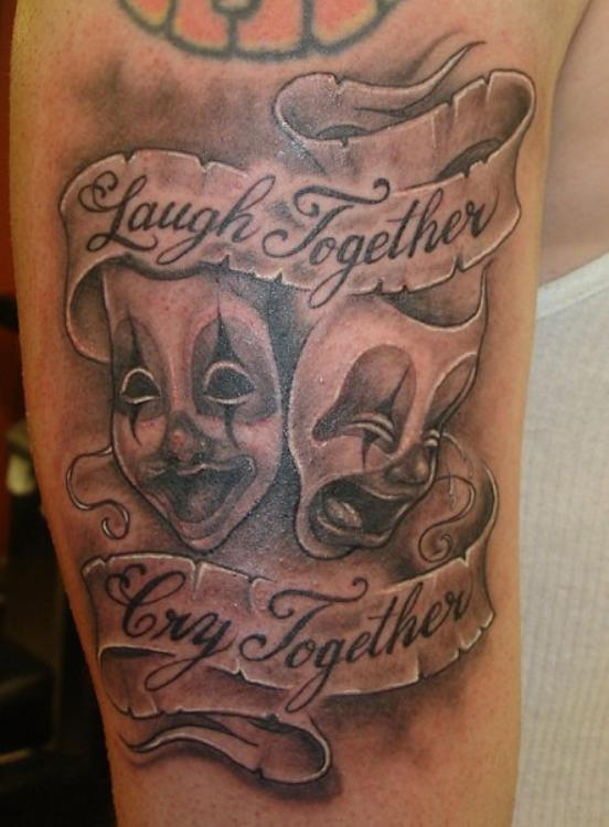 Great Tattoos: Laugh Now Cry Later Tattoos