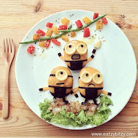 http://www.lushome.com/creative-food-art-decoration-ideas-tell-stories-make-kids-eat-vegetables/123143