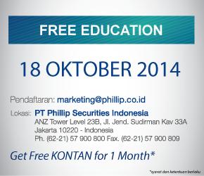 Even  terdekat yang akan diadakan Phillip Securities Indonesia
