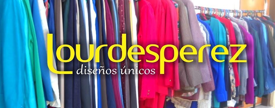 Lourdes Perez, diseños únicos