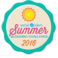 Social Insiders Summer Blogging Challenge