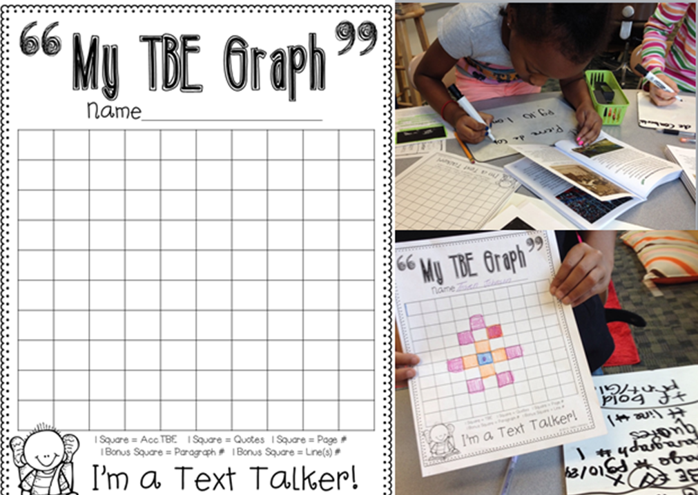 Follow Up Post about the TBE Graph...Getting Kids to Know and Show ...