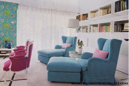 Sala De Estar Letra ~ de estar rodeado de livros, estas sugestões convidam para a sala