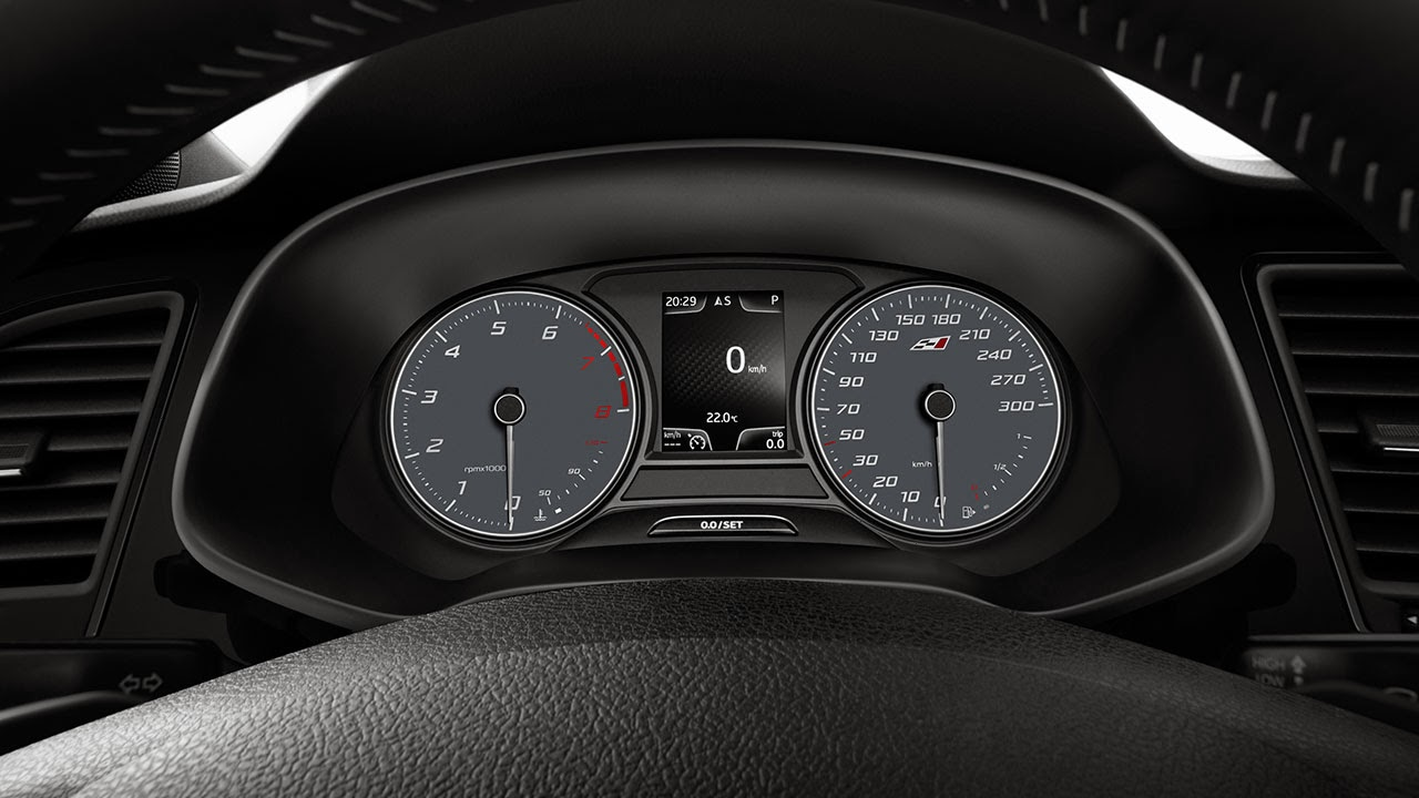 SEAT Leon Cupra 280 dash