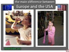 Perbedaan Antara Orang Amerika dan Orang Eropa dalam Berbagai Hal