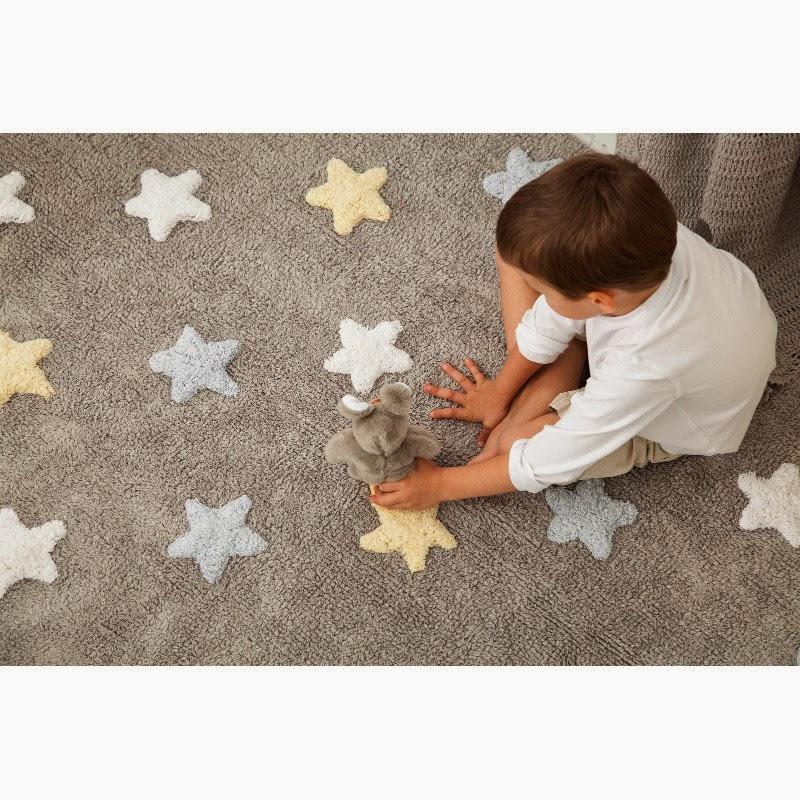 alfombra estrellas infantil