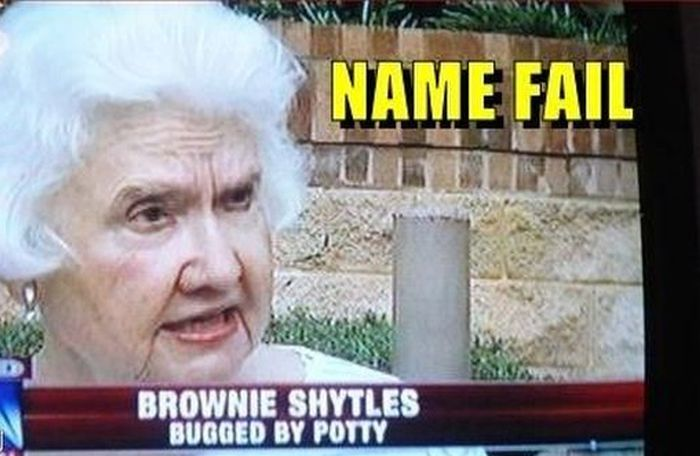 35 funniest names ever