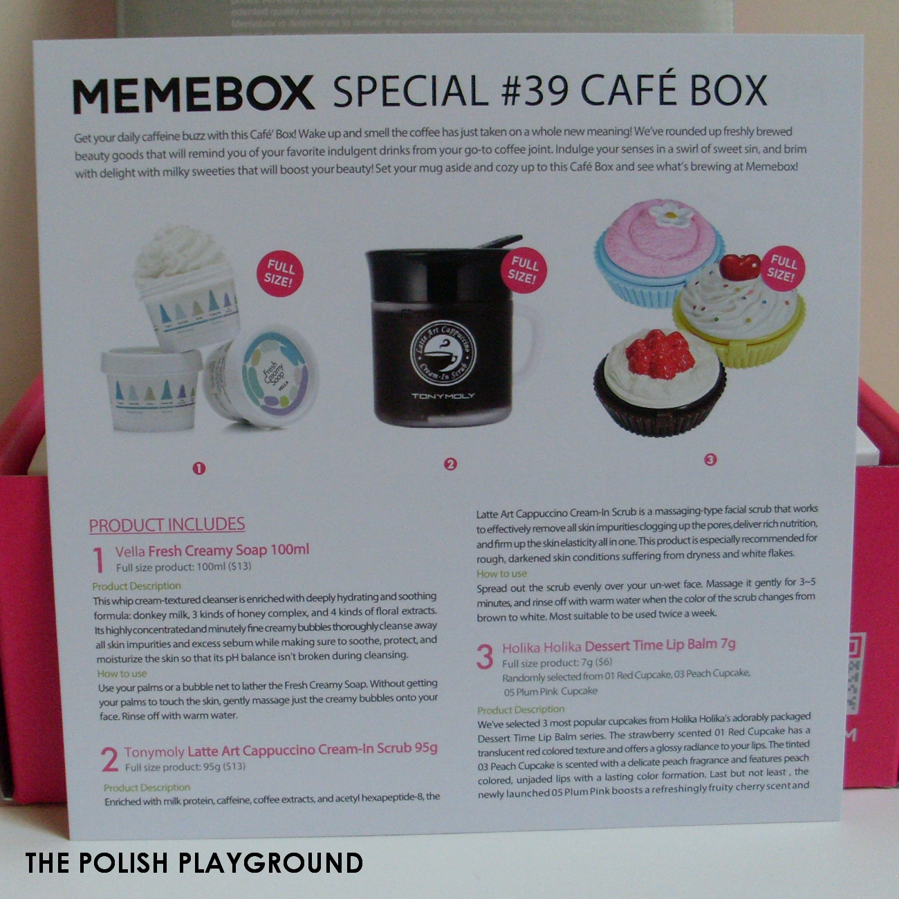 Memebox Special #39 Café Box Unboxing