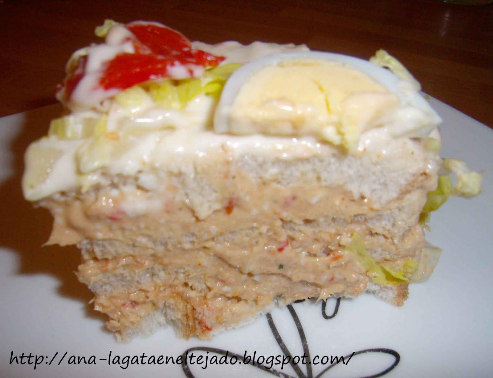 La gata en el tejado: Cocinar barato y fácil: Pastel con pan de molde