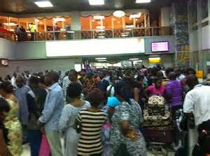 Panic Grip Murtala Muhammed International Airport As Passenger Collapses And Dies