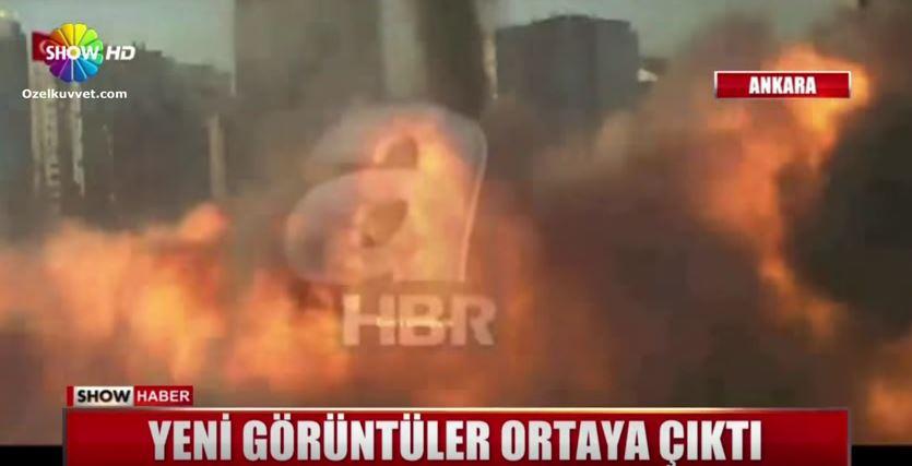 H Επίθεση με F16 στο προεδρικό μέγαρο της Τουρκίας – Βροχή από βόμβες