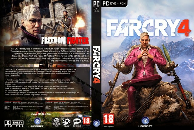 Far Cry 4+DLC free download PC game