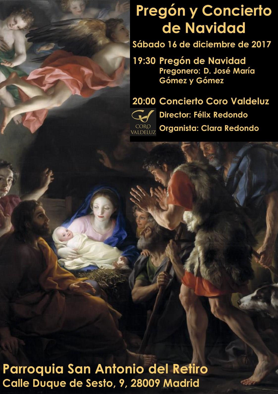 Concierto 16 y 17 Diciembre