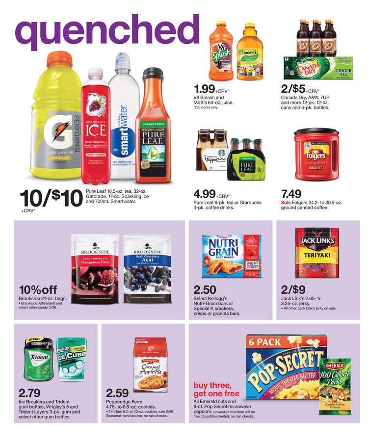 Target Weekly Ad October 18 – 24, 2015