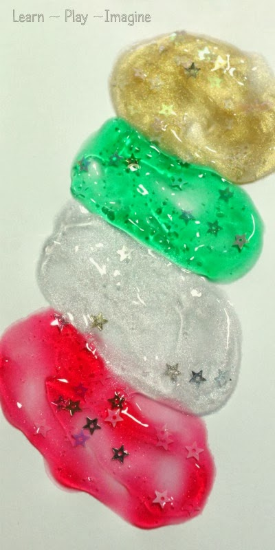 How to make Christmas confetti paints for art that shimmers and shines - just three ingredients!