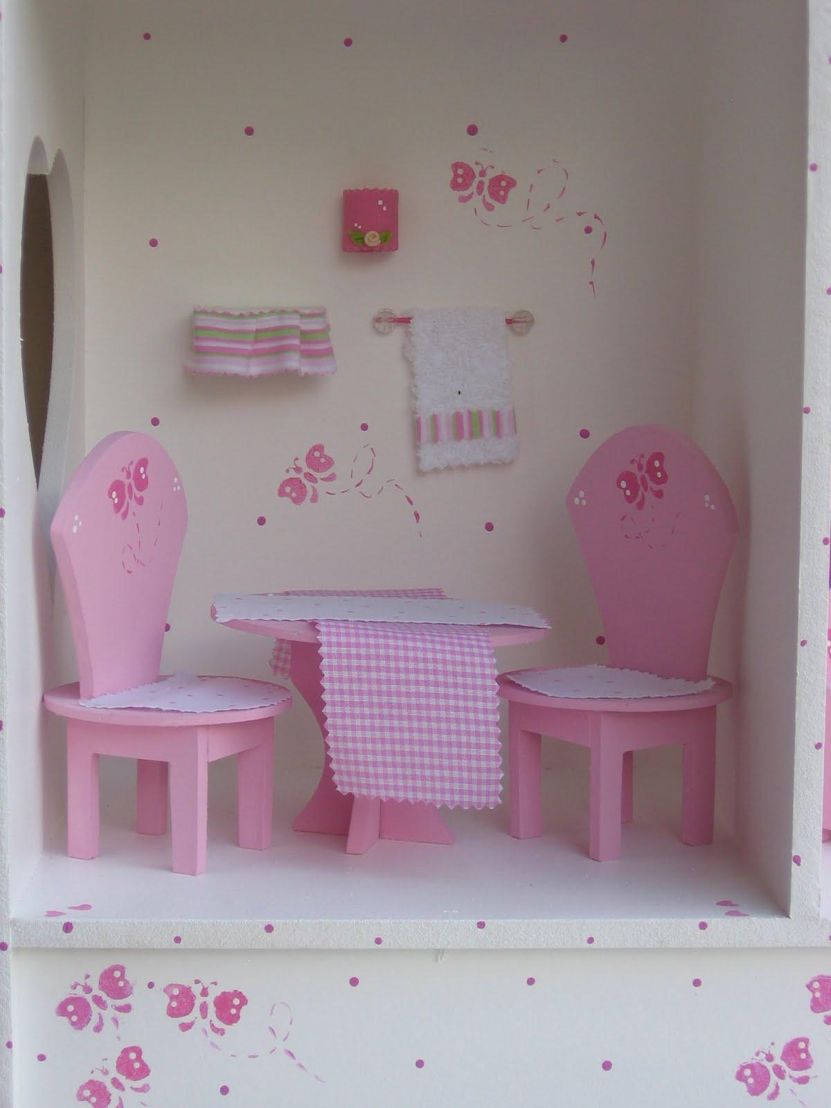Con el amor de carlota muebles para casa de mu ecas barbie for Muebles en la carlota