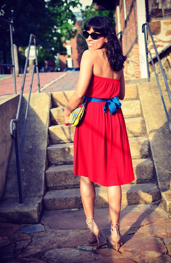 HIGH LOW DRESS STREET STYLE