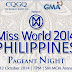 Watch Miss World Philippines 2014