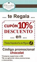 """10% Descuento en la Tienda Online """" Reposteria de Miguel """""""