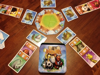 Noah card game in play