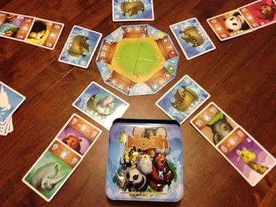 Noah card game in play