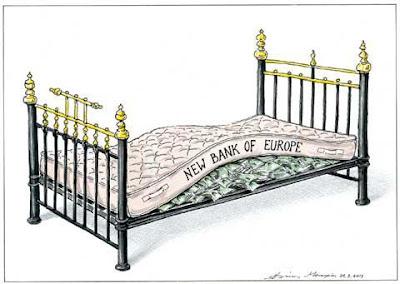 New Bank of Europe, Novo Banco Europeu, European Central Bank, Banco Central Europeu