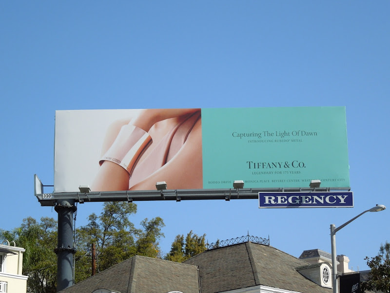 Tiffany Rubedo metal billboard