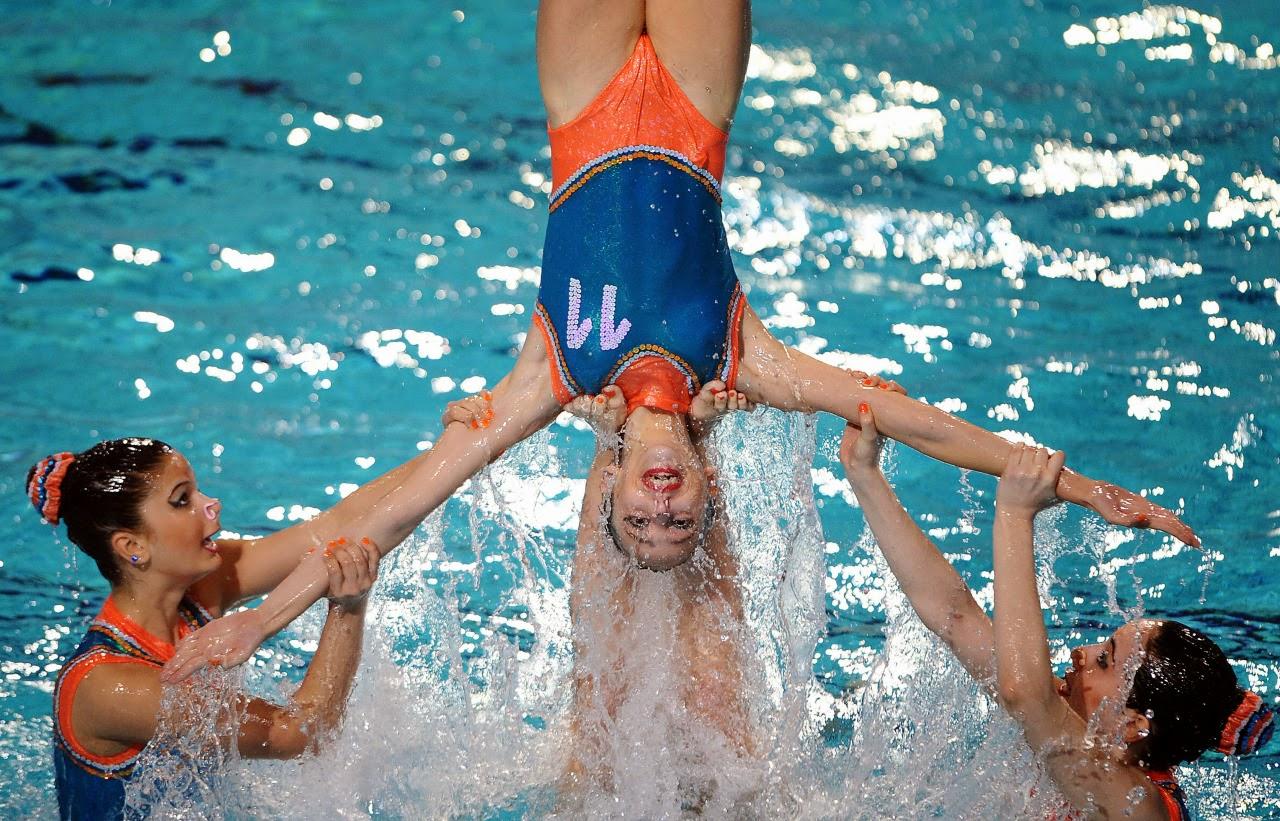 Синхронное плавание голых 16 фотография