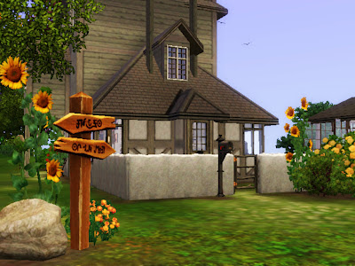 weasley potter sims 3 burrow
