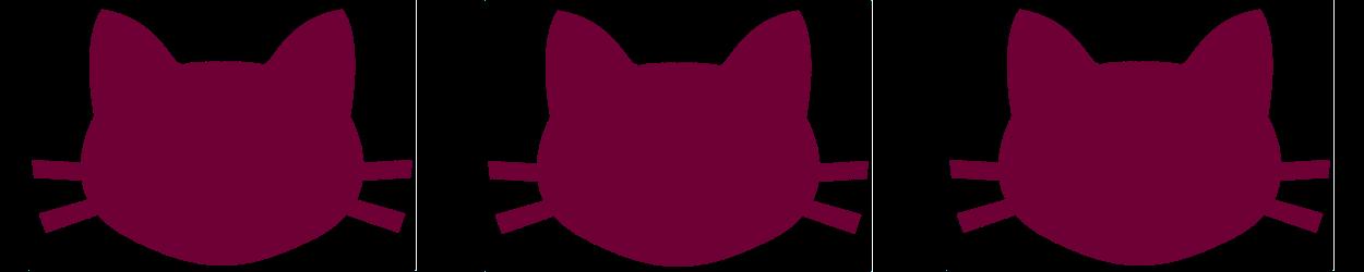 threepinkcats