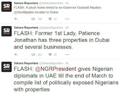 SaharaReporters list of Nigerians who have properties in Dubai (See full list) 1