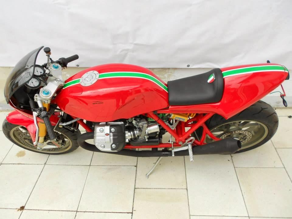 Racing Caf U00e8  Moto Guzzi  U0026quot Retro Le Mans Stage 2 U0026quot  By