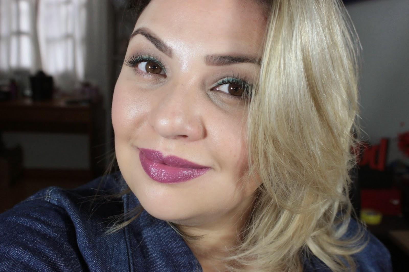 batom, lipstick, nc25, mac, edição, limitada, limited, edition, alluring, aquatic, goddess oh the sea, sea, loira, roxo, purple, coleção, collection