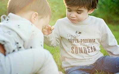 Camisetas con mensajes para niños