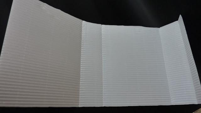 Cartoncino ondulato che si trova in alcune confezioni dei crackers o dei biscotti