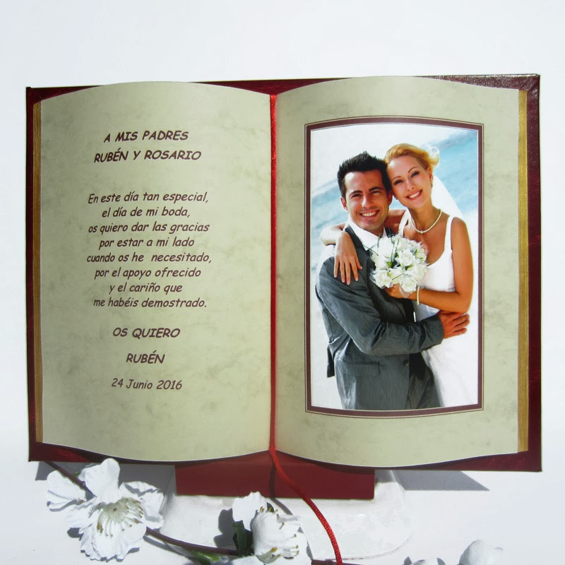 Almudena 39 s dream wedding ideas regalos especiales para for Regalo aniversario boda padres
