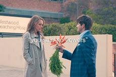 Me digistes que nada de flores.