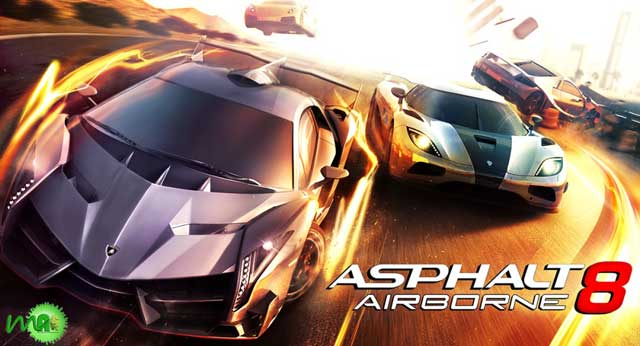 Asphalt 8: Airborne v1.2.0 APK For Android