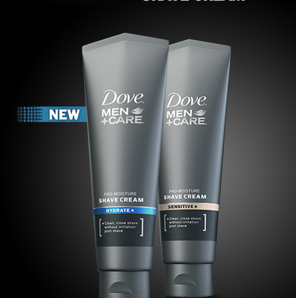 2014 Canadian FReebie for Men - Free Dove MEn's Shave Cream