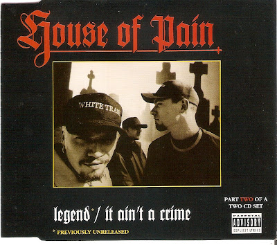 House Of Pain – Legend / It Ain't A Crime (CDS) (1994) (320 kbps)