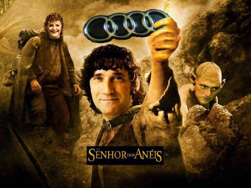 O senhor dos Audi's, baseado no filme O senhor dos Anéis